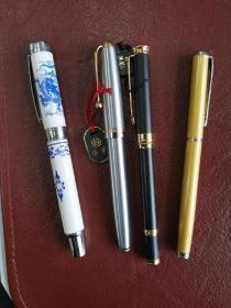 旧钢笔3支、水笔1支合售