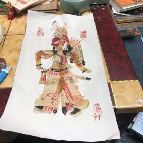 中国民间皮影戏 物件