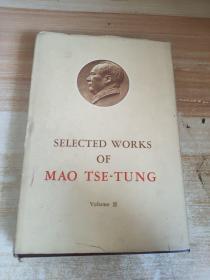 英文版毛泽东选集3卷精装