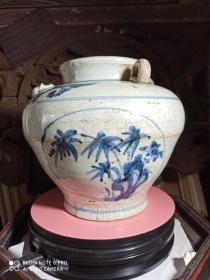 明代青花瓷大瓶