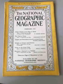 The National Geographic Magazine 美国国家地理 1945年2月  中国故事:香港 上海 美在华空军基地