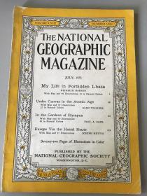 The National Geographic Magazine 美国国家地理 1955年7月