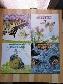 彩绘法布尔昆虫记 熊田千佳慕的世界(全5册)缺3