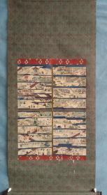 清代时期    木版   套色佛画