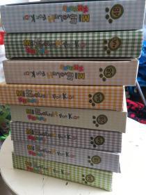 美智幼儿英语:1A、1B、2A、2B、3A、3B、4A、4B  盒装全    八盒合售   盒内全新