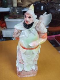 水浒人物酒瓶(1斤装)索超(精美)