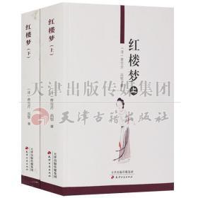 红楼梦(上下共2册)中国 清代 章回小说中国古典文学小说四大名著