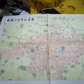 石家庄市区交通图