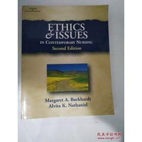 现货正版 外文书  Ethics And Issues In Contemporary Nursing