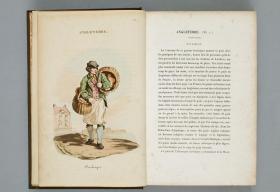世界民族风俗与服饰,J.B.B.Eyriès著。其主要内容为彩色版画,描绘和介绍了当时英国,奥地利,俄罗斯,土耳其、中国的风俗、人物服饰等(中国部分24幅)。本店此处销售的为该版本的仿古道林纸、彩色高清复制、无线胶装本。