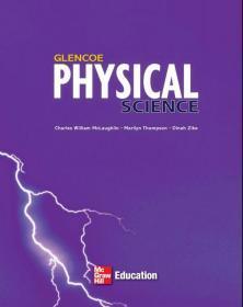 美国初中物理原版英文教材课本教科书7~9年级