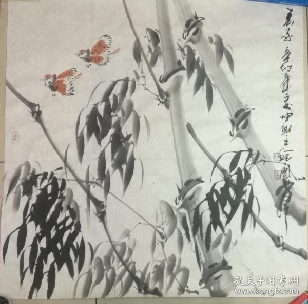 孙炳国国画作品
