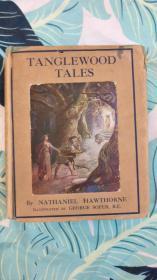 纳撒尼尔·霍桑《探戈林故事》Tanglewood Tales by Nathaniel Hawthorne 画家George Soper插画
