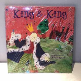【绝版孤品】King and King  全新未开封