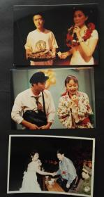 喜剧演员等老照片3张合售,有些演员20年前还未走红