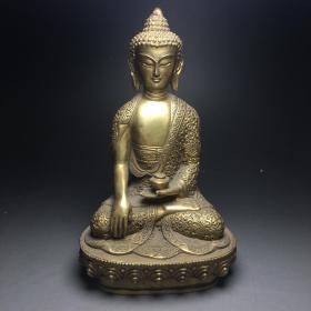 铜佛像摆件 全部亏本处理当工艺品卖X86831