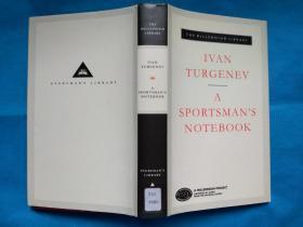 A Sportsmans Notebook by Ivan Turgenev (Everymans Library) 屠格涅夫《猎人笔记》英文版 布面精装本 (人人文库经典)