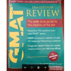 The Official Guide for GMAT Review, 13th EditionGMAT官方指南,第13版 英文原版