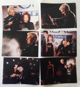 2000年前后,巴黎欧莱雅专业美发场景老照片,理发老照片9张合售
