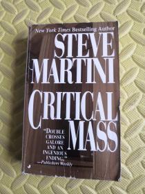 英文原版STEVE MARTINI CRITICAL MASS