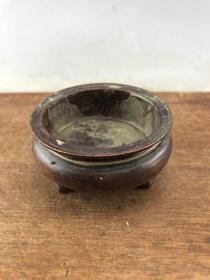 赔钱处理老铜香炉B3633.