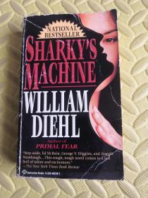 英文原版SHARKYS MACHINE WILLIAM DIEHL
