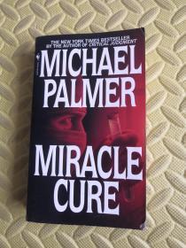 英文原版MICHAEL PALMER MIRACLE CURE