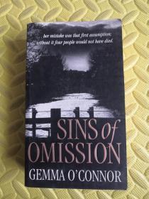 英文原版SINS OF OMISSION