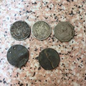 小银币几个