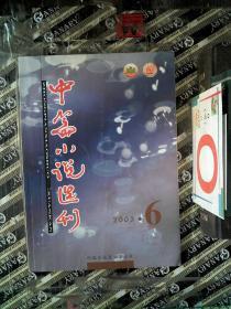 中篇小说选刊 文学双月刊 2003.6