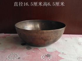 老铜钵老铜碗4232