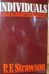 Individuals: An Essay In Descriptive Metaphysics