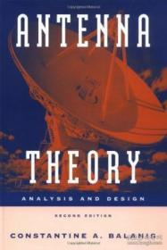 Antenna Theory: Analysis And Design 2nd Edition