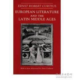 European Literature And The Latin Middle Ages (bollingen Series (general))