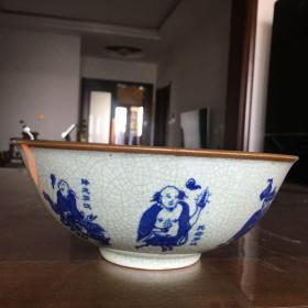 十八罗汉 瓷碗