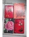湖北大学、藻类学家毕列爵教授  工作笔记本记事本4本(70年代-80年代)