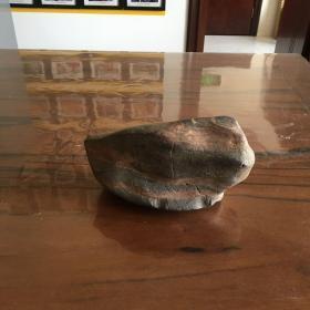 奇石(红丝石)