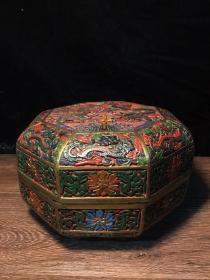 漆器龙纹首饰盒