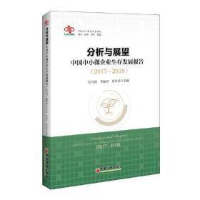 分析与展望:中国中小微企业生存发展报告2017-2018