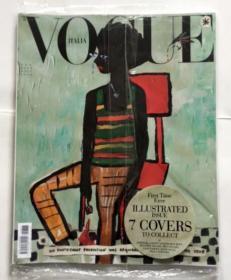 意大利 VOGUE 意大利版 ITALIA 2020年1月 女装设计 时尚杂志 N.833  多个封面
