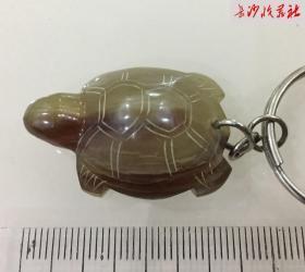 湖南湘西,牛角雕刻,乌龟钥匙扣,传统手工工艺品,乌龟手工雕刻,平安、护身