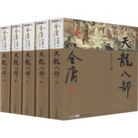 天龍八部 新修珍藏本(5冊) 武俠小說 金庸