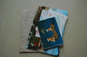 70年代年历卡7张+明信片2张