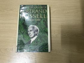 (初版)The Autobiography of Bertrand Russell  《罗素自传》英文原版,卷三, 精装
