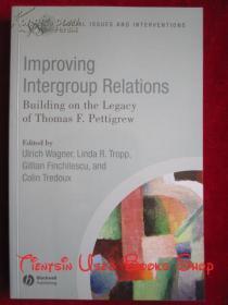Improving Intergroup Relations: Building on the Legacy of Thomas F. Pettigrew(英语原版 平装本)改善群体间的关系:建立在托马斯·F.·佩蒂格鲁的遗产基础上