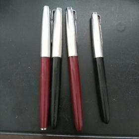 英雄牌钢笔四支合售