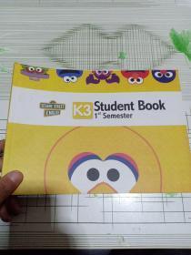 芝麻街英语——K3——Student Book ——1st Semester (有点水印详情看图)