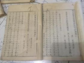 冯氏锦囊秘录 共20卷全(线装)