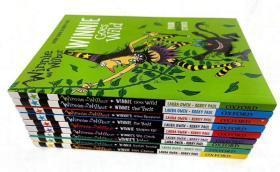 平装 英文故事书 winnie and wilbur winnie's laura owen korky paul 温妮女巫故事阅读书 9册