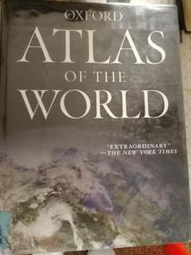 Oxford Atlas of The World   Fourteenth  Edition 英语原版牛津世界地图册